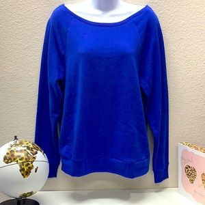 NWT VS Pink Off The Shoulder Sweatshirt Size XS